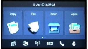 HP OfficeJet Pro 8620 - Элементы управления