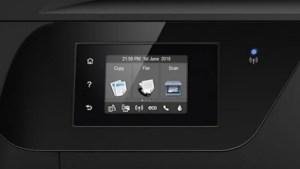 HP Officejet 7510 - Сенсорный экран