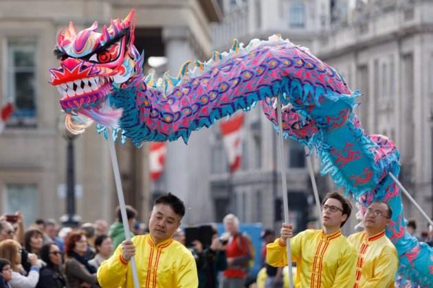Образ Тамрона 70-200мм с изображением дракона