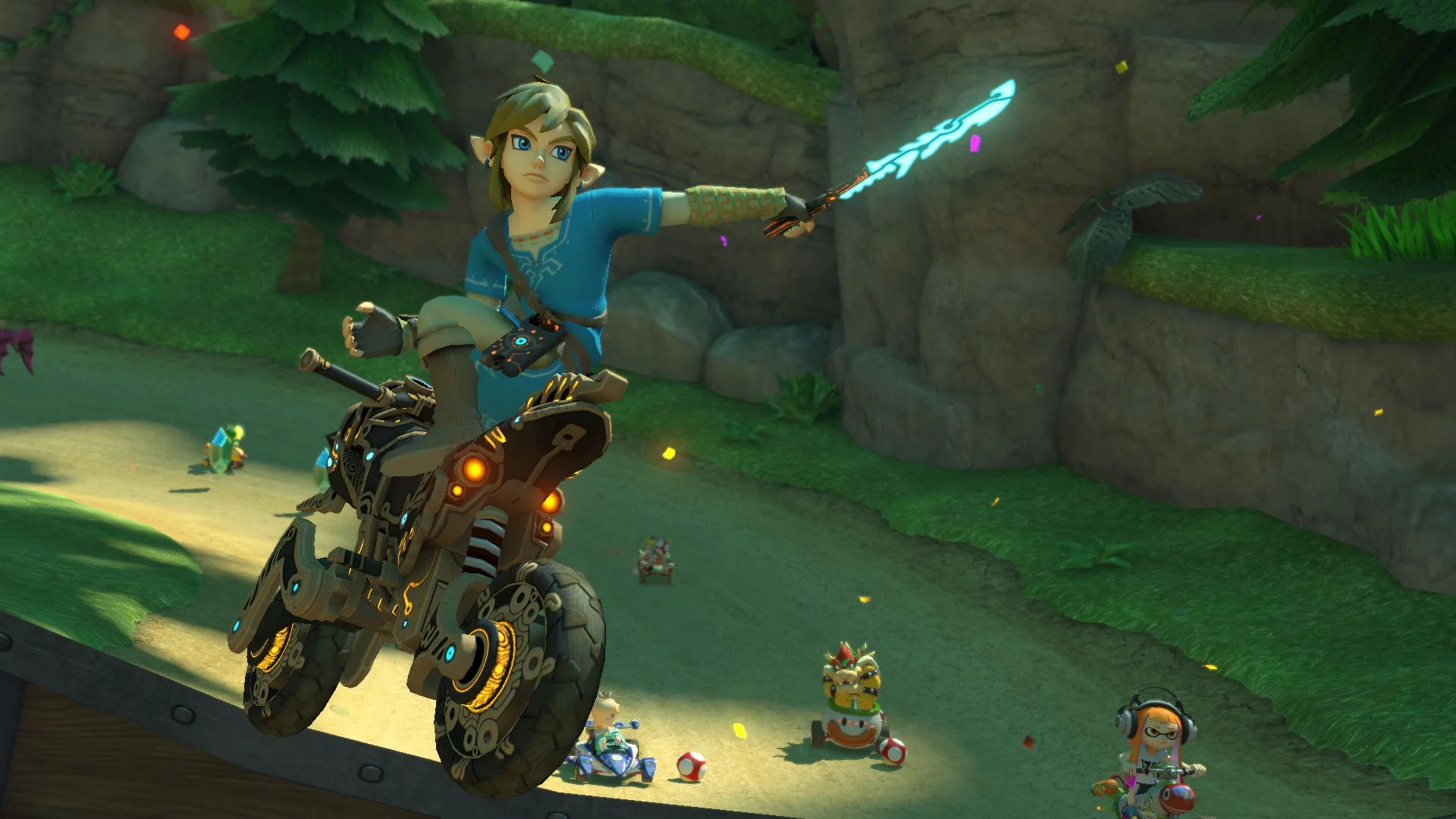 Mario Kart 8 Deluxe Gets A New Character And Motorcycle In
