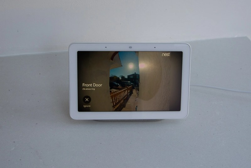 Google Home Hub Nest Hello