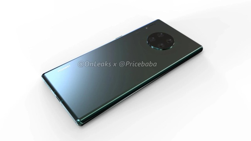 Huawei Mate 30 Pro renders show off rumoured seven camera setup