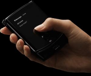 Motorola Razr 2019 leak