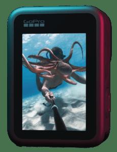 HERO9 Black back display underwater vertical GoPro's Hero 9 Black boasts 5K shooting and a new front-facing display