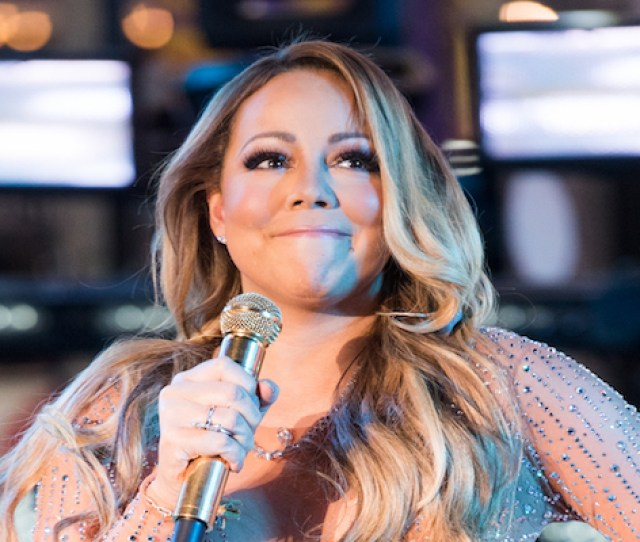 New York Ny December  Singer Mariah Carey Performs During New Years Eve  In Times Square On December   In New York City