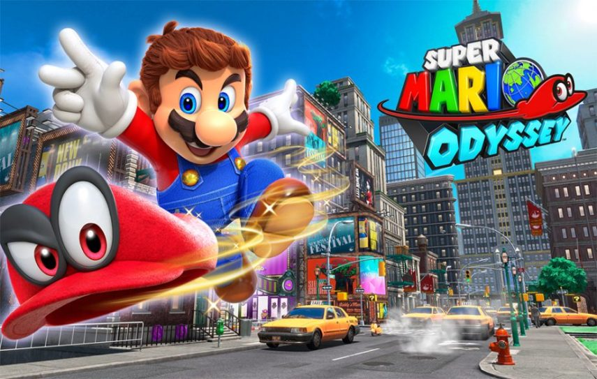 The six best mini games in the smash hit  Super Mario Odyssey  Credit  Nintendo