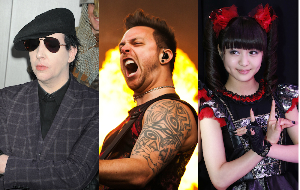 Marilyn Manson Bullet For My Valentine And Babymetal Lead