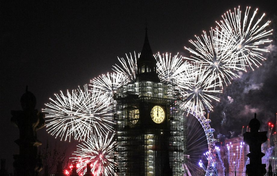 Ariana Grande leads the London New Years Eve fireworks soundtrack   NME Credit  Getty