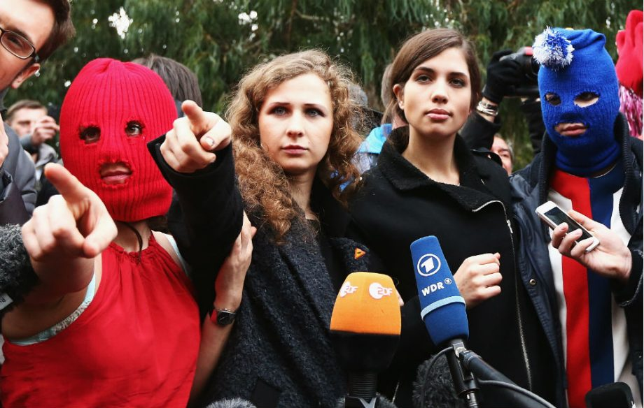Image result for pussy riot 2019