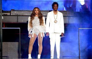 Beyonce and Jay-Z live