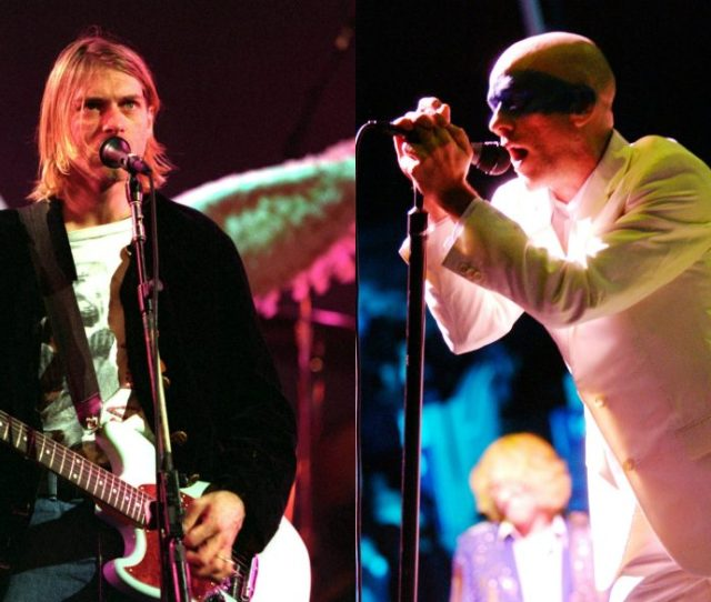 Nirvana And R E M Perform Live Credit Getty