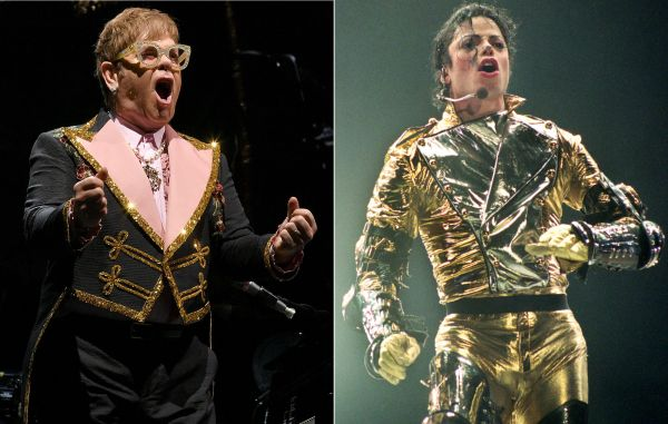 """Elton John on how he found Michael Jackson to be """"genuinely mentally ill"""" and """"a disturbing person to be around"""" - NME"""