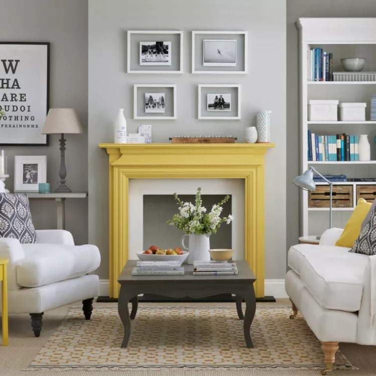 Yellow And Grey Living Room Ideas Colour Combinations To Suit All Styles