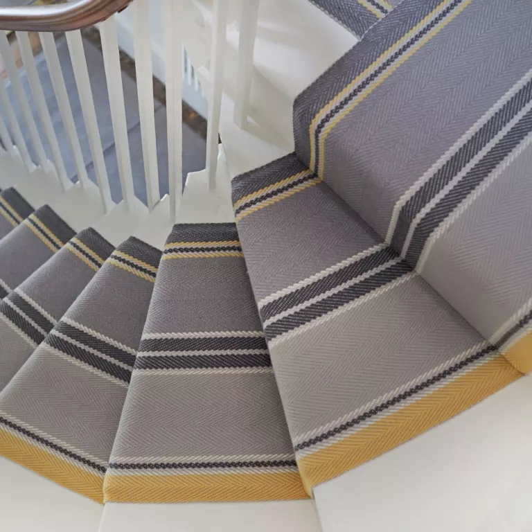 Best Stair Carpets – Our Pick Of The Most Fabulous Flooring For   Tweed Carpet For Stairs   Adam   Modern   Mustard   Hard Wearing   Wool