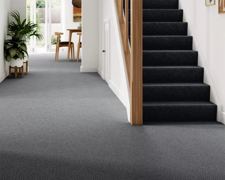 Best Stair Carpets – Our Pick Of The Most Fabulous Flooring For | Grey Patterned Carpet Stairs | Unusual | Living Room | Grey Mottled | Carpet Wrapped | Geometric