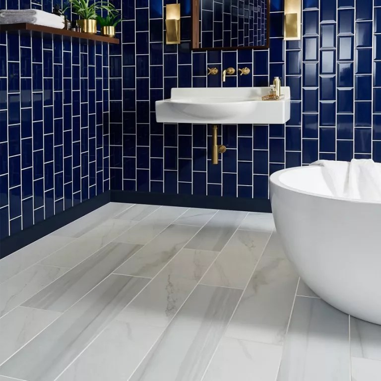 these faux marble tiles have got