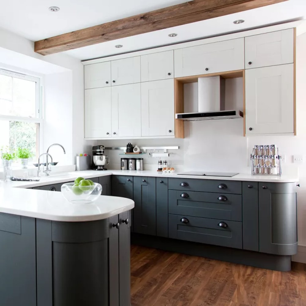 grey kitchen ideas that are sophisticated and stylish | ideal home