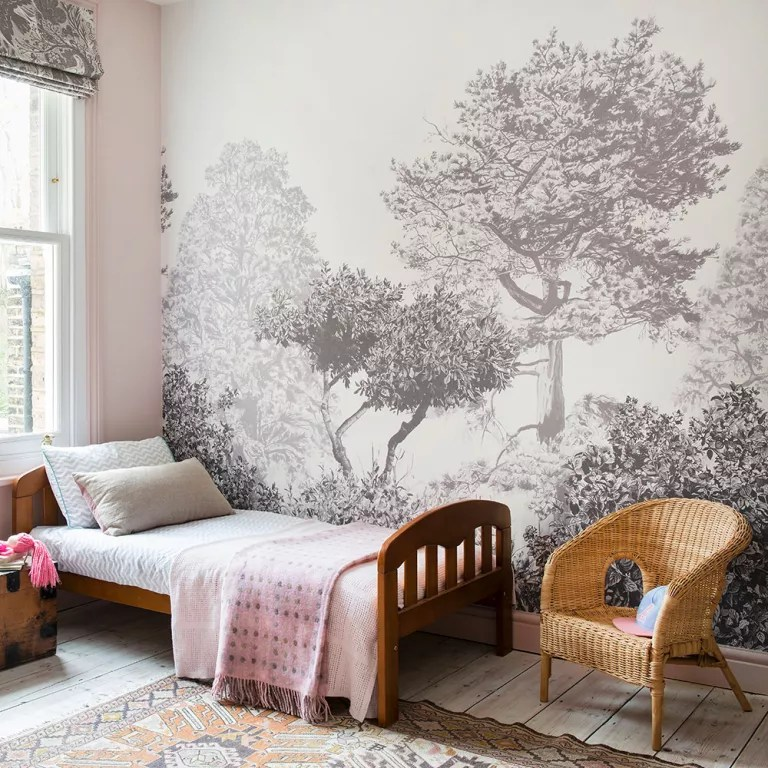 Feature Wall Ideas Make A Style Statement With Wallpaper Paint Tiles