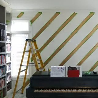 DIY fans get creative with £15 FrogTape – a must-have for feature walls
