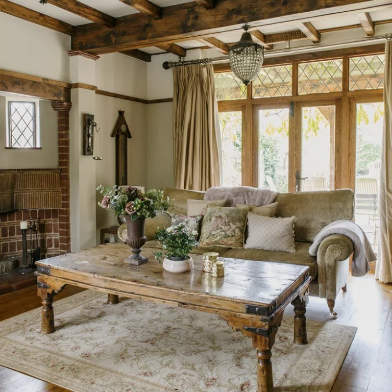 country living room ideal home house tour