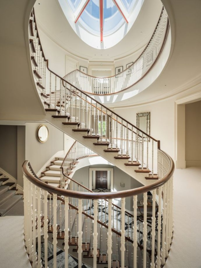 Striking Staircase Ideas Beautiful Design Of Staircase And Stairs | Spiral Staircase For Sale Ebay | Stair Railing | Stair Case | Wrought Iron Spiral | Handrail | Attic Stairs
