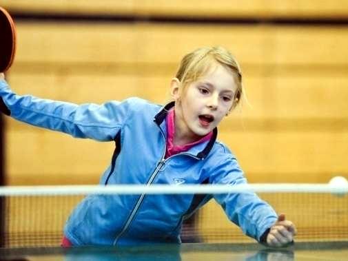 Kinder- und Jugendspiele – Tischtennis –