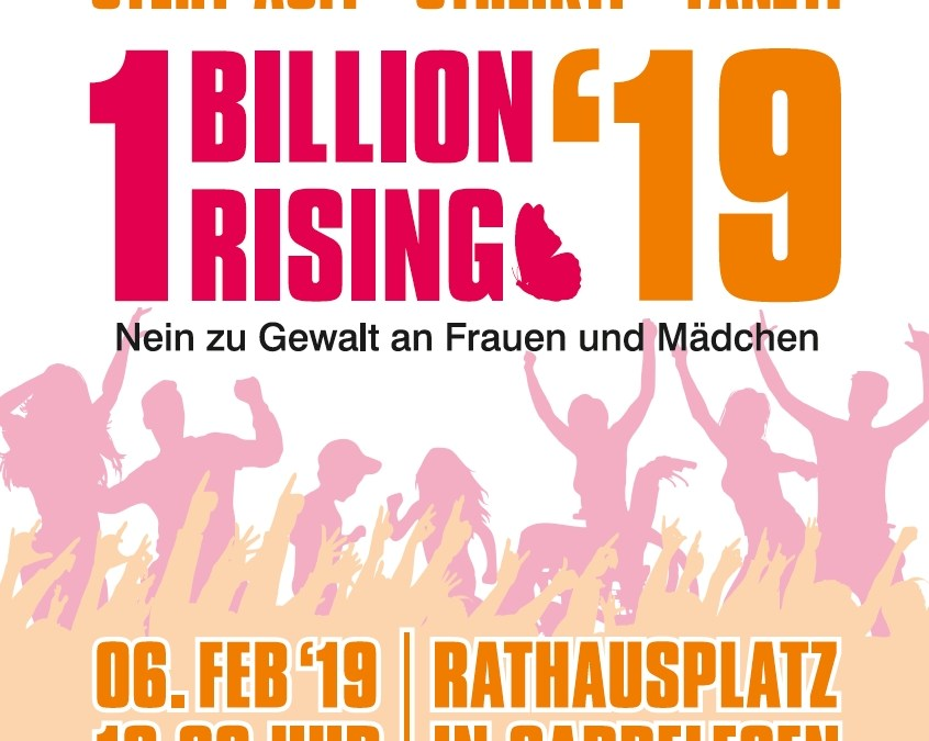 One Billion Rising am 6. Februar 2019 in Gardelegen