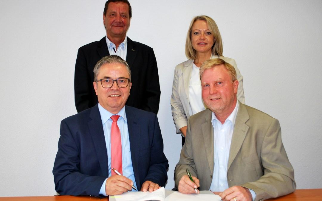 Neue Zuwendungsvereinbarung zwischen Kreis und KSB geschlossen