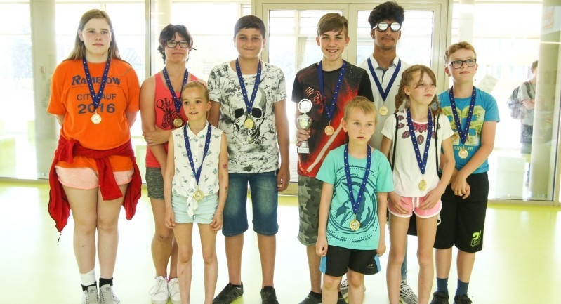 Die Sieger der Kinder- und Jugendspiele auf einem Blick. Fotos: Thomas Koepke