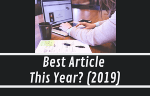 Best Article You Read Online This Year? (2019)