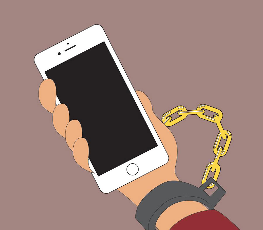 Image result for mobile phone addiction