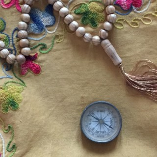 Moskau Moschee Kompass
