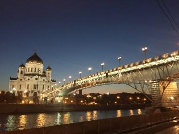 Brücke an der Christ-Erlöser-Kathedrale