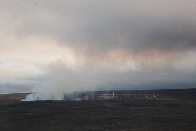 Honeymoon in Hawaii. Volcano national park