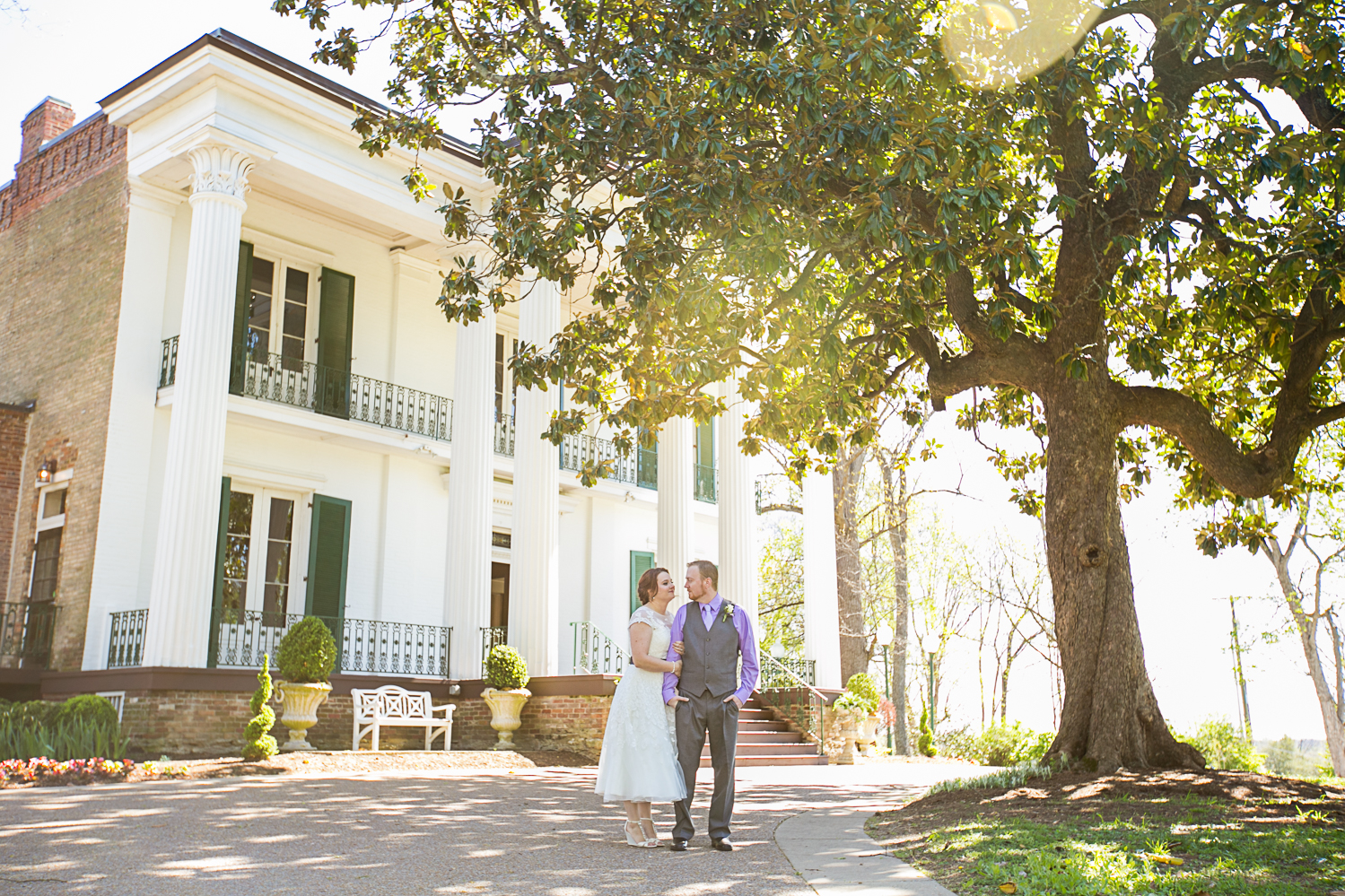 Nashville Elopement at Riverwood Mansion