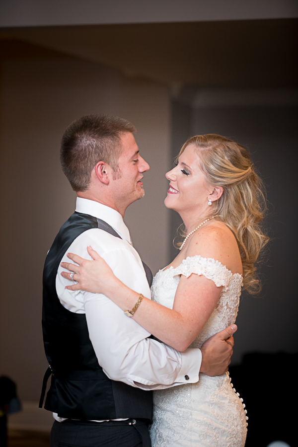 first dance at Covey Rise