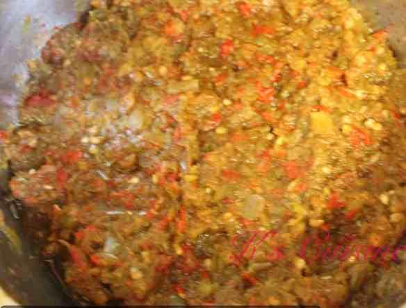 Boiled pepper