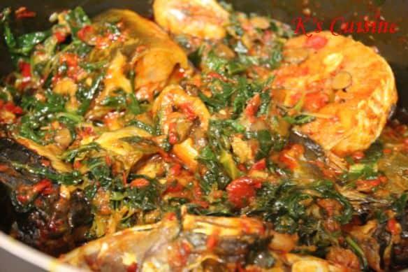 seafood efo riro