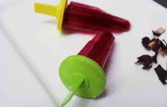 Zobo Popsicles