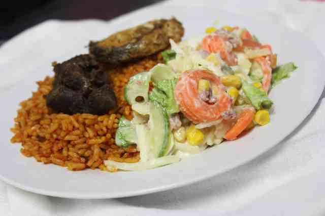 Nigerian salad