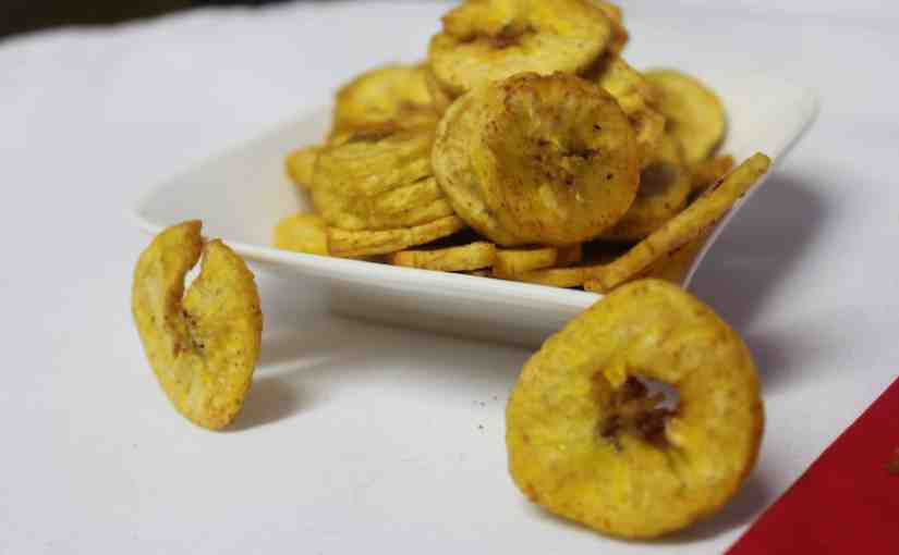 Suya Plantain Chips