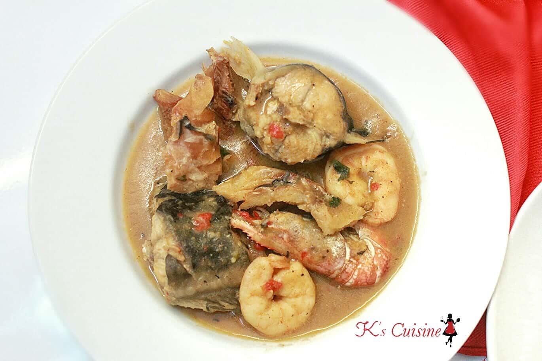 Ofe Nsala (White Soup) - K's Cuisine