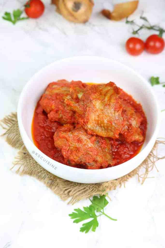Nigerian Turkey Stew