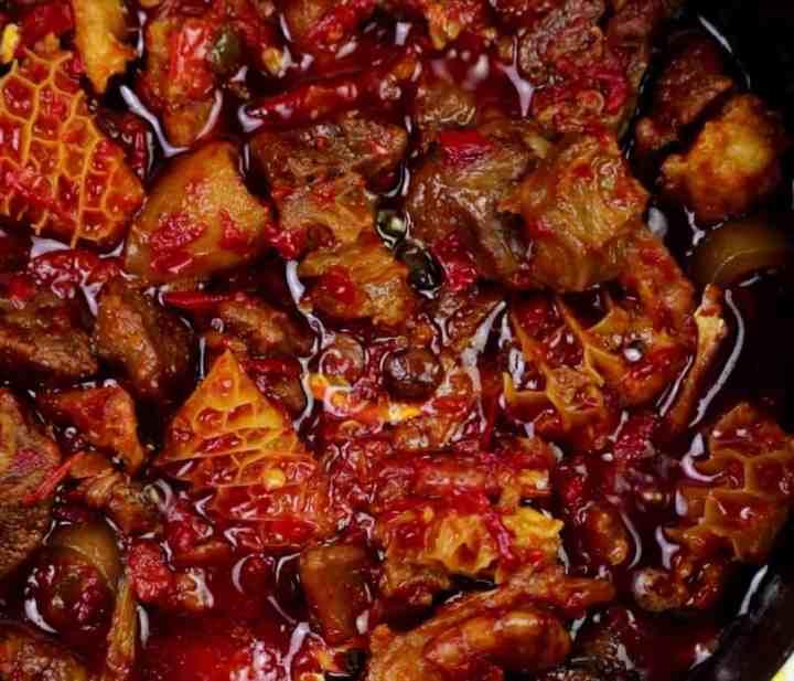 Delicious Iru stew