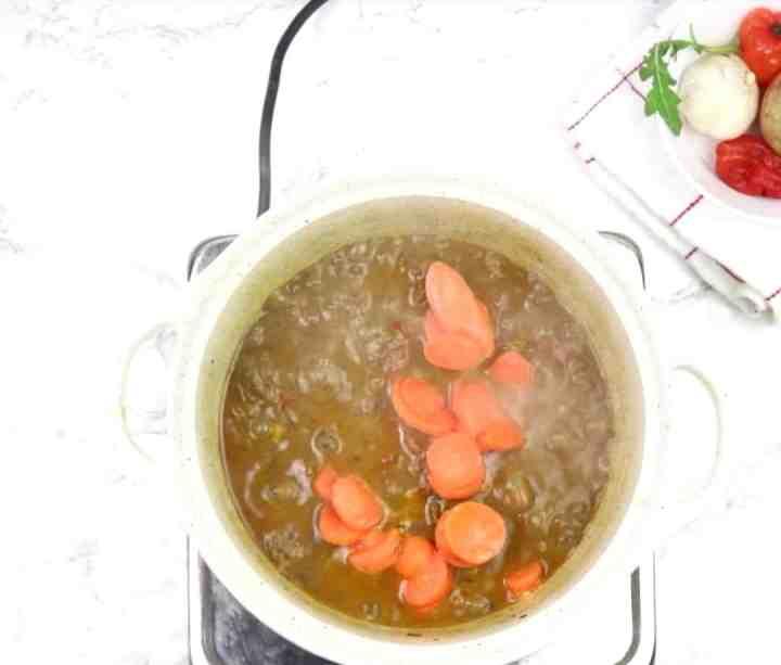 Add in carrot