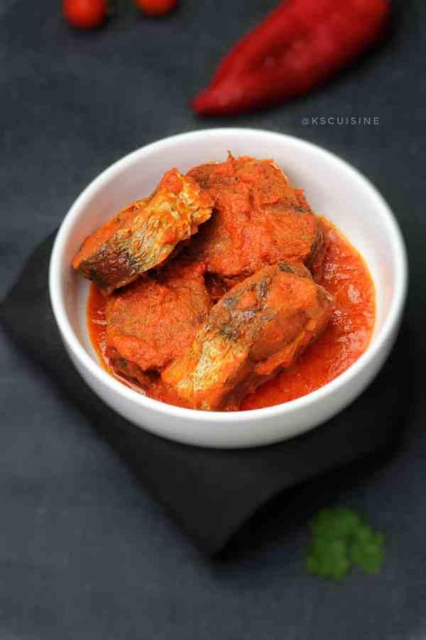 Nigerian fish stew- African fish stew