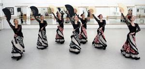 Flamenco Rehearsal Allegrodance Touring Company