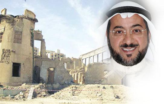 """""""أكد انتهاء عمل لجنة التحقيق بحادث انهيار جدار مشروع ترميم """"ديوان خزعل"""