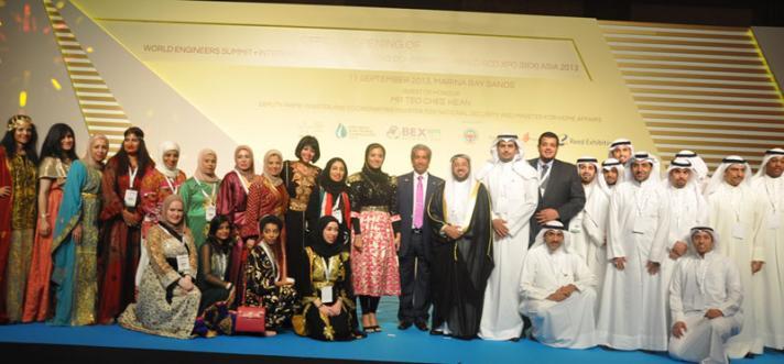 وفد مهندسين الكويت يشارك في تفعيل مكافحة الفساد وتطوير الطاقة بسنغافوره