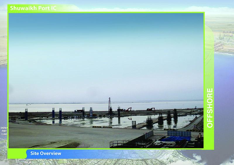 جسر جابر … مشروع يقود التنمية